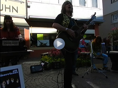 Die Morrisons live street music in Aalen: The Crystal Ship