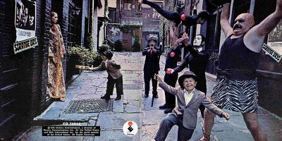 The Doors Album Cover Strange Days