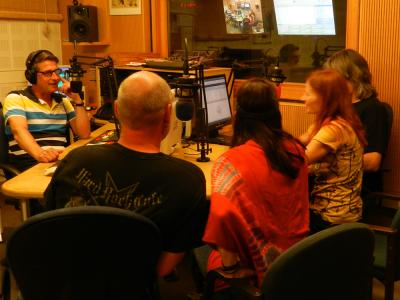 Live bei Radio Fips 25.8.15: Interview