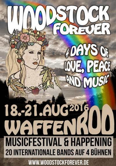 Flyer Woodstock Forever
